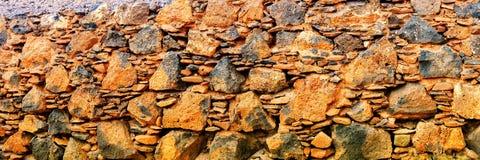 Lava stone wall background Royalty Free Stock Photo