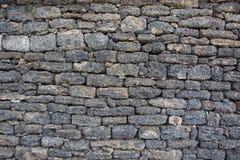 Lava-stone wall Royalty Free Stock Photos