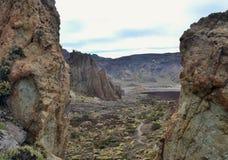 Lava-Teide Vulkano Imágenes de archivo libres de regalías