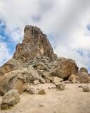 Lava Tower, parco nazionale di Kilimanjaro, Tanzania, Africa Immagini Stock