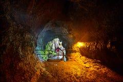 Lava Tube Images stock