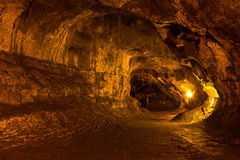 Lava Tube Royalty-vrije Stock Foto's