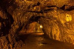 Lava Tube Imagem de Stock Royalty Free