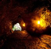 Lava tube Stock Image