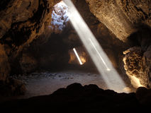 Lava Tube Skylights Stock Images