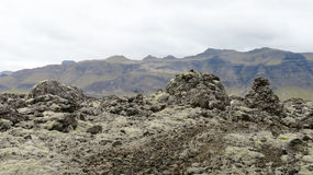 Lava vaggar Arkivfoto