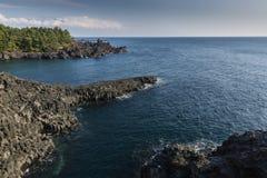 Lava vaggar landskap Arkivfoto