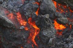 Lava Wall stock fotografie