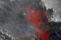 Lava Wall Immagine Stock
