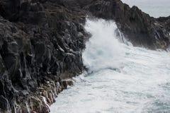 Lava wave Royalty Free Stock Photos