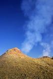Lava y humos Fotografía de archivo