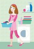 Lavabile illustrazione vettoriale