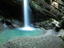 Lavabo de la cascada de Thur Imagen de archivo libre de regalías