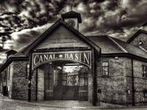 Lavabo del canal de Coventry Foto de archivo libre de regalías