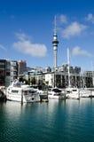 Lavabo del puerto del viaducto de Auckland Imagen de archivo libre de regalías