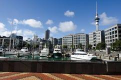Lavabo del puerto del viaducto de Auckland Fotografía de archivo libre de regalías