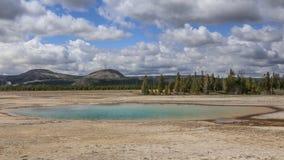 Lavabo en Yellowstone Foto de archivo