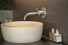 Lavabo and faucet Stock Image