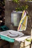 Lavabo rural fotos de archivo libres de regalías