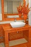 lavabo terakota Zdjęcia Stock
