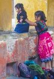 Lavadero de la calle de Antigua Fotos de archivo