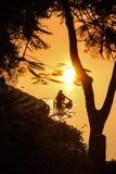 Lavadero de la salida del sol Imagenes de archivo