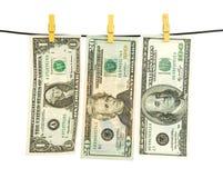 Lavadero del dinero Imágenes de archivo libres de regalías