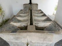 Lavadero, stary jawny obmycie dom w Pampaneira, Hiszpania Obraz Royalty Free
