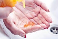 Lavado de manos Foto de archivo