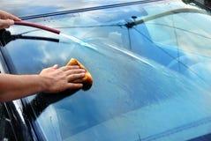 Lavado del coche Imagen de archivo
