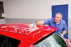 Lavado del coche. fotos de archivo