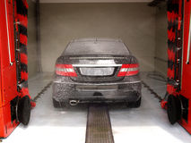 Lavado del coche Imagenes de archivo