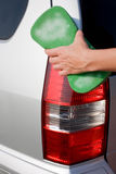 Lavado del coche Fotos de archivo libres de regalías