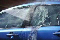 Lavado del coche Fotografía de archivo libre de regalías