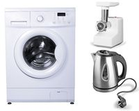 Lavadora de ropa Imagen de archivo libre de regalías