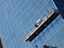 Lavadoras de ventana Fotos de archivo libres de regalías