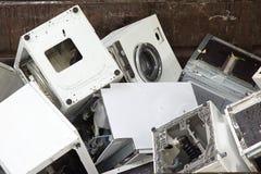 Lavadoras que reciclan el centro Foto de archivo libre de regalías