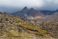 Lavafält Arkivbild