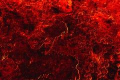 Lavaflüsse auf die Erde Lizenzfreie Stockfotografie