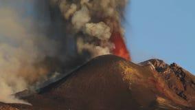 Lavafonteinen stock footage