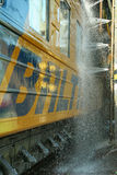 Lavage 4 de train Photo stock