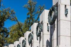 Lavage commémoratif de point de repère d'architecture de détail de plan rapproché de la deuxième guerre mondiale photographie stock
