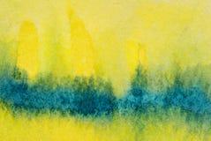 Lavage d'aquarelle image stock