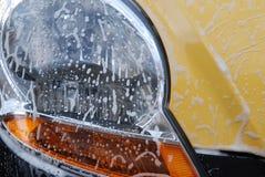 Lavage de carlight Image libre de droits