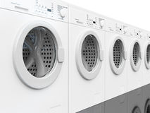 lavage de machine Photo libre de droits