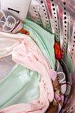 lavage de machine de chéri d'habillement Image stock