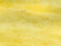 Lavage de papier pour aquarelle de sépia Photo stock