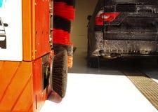 Lavage de véhicule Image libre de droits