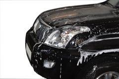 lavage de véhicule Photographie stock libre de droits