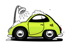 lavage de voiture illustration libre de droits